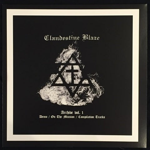 "Clandestine Blaze ""Archive Vol. 1″ LP"