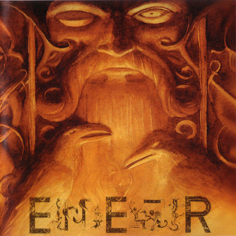 "Eiherjer ""Odin Owns Ye All"" Orange Vinyl LP"