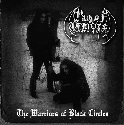 "Pagan Temple ""The Warriors Of Black Circles"" CD"