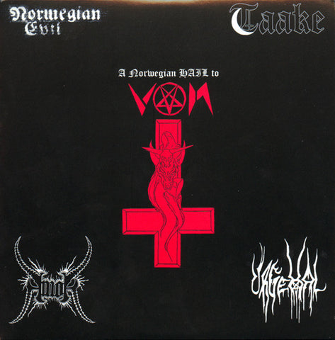 "Amok / Taake / Urgehal / Norwgian Evil ""Norwegian Hail to Von"" Split Double 7"""