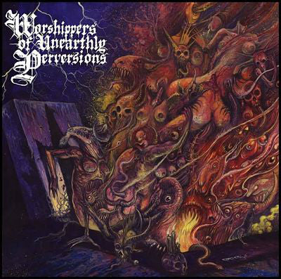 "Beastiality ""Worshippers Of Unearthly Perversions"" LP"