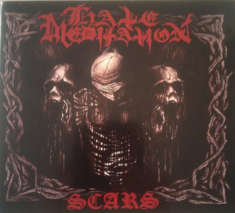 "Hate Meditation ""Scars"" Digipak CD"