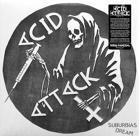 "Acid Attack ""Suburbia's Dream"" LP"