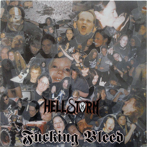 "Hellstorm ""Fucking Bleed"" LP"