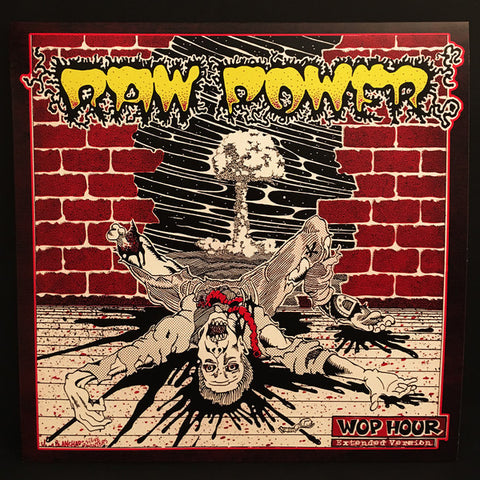 "Raw Power ""Wop Hour – Extended Version"" LP"