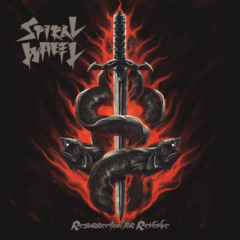"Spiral Wheel ""Resurrection For Revenge"" CD"