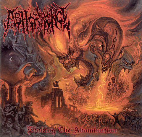 "Abhorrence ""Evoking The Abomination"" CD (Evil Vengeance Records)"