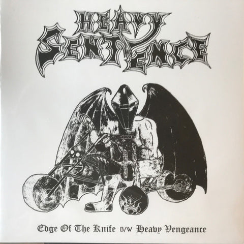 "Heavy Sentence ""Edge Of The Knife B/w Heavy Vengeance"" 7"""