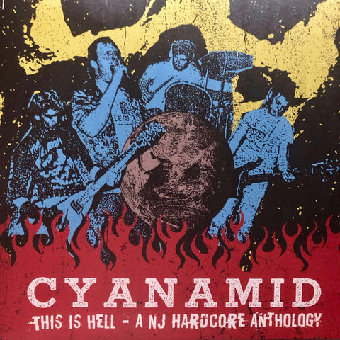 "Cyanamid ""This Is Hell – A NJ Hardcore Anthology"" LP+CD+Booklet"