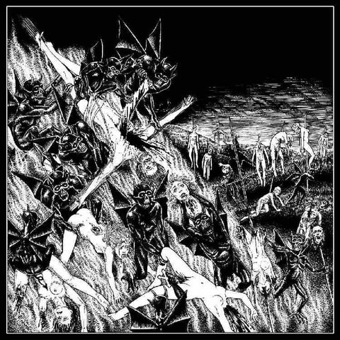 "Pazuzu / Morbid Perversion ""Darkest Abominations"" 7"""