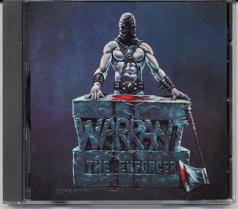 "Warrant ""The Enforcer"" CD"
