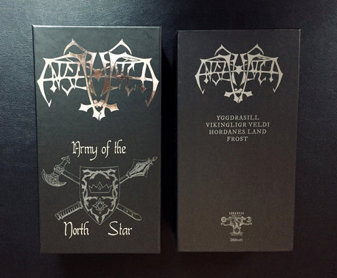 "Enslaved ""Army of the North Star"" 4 X Tape Box"