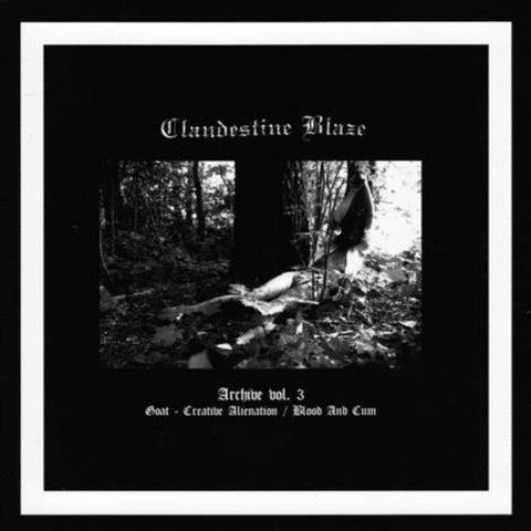 "Clandestine Blaze ""Archive Vol. 3 LP"