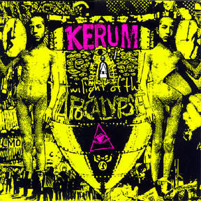 "Kerum ""Twilight of the Apocalypse"" Green Marble LP"