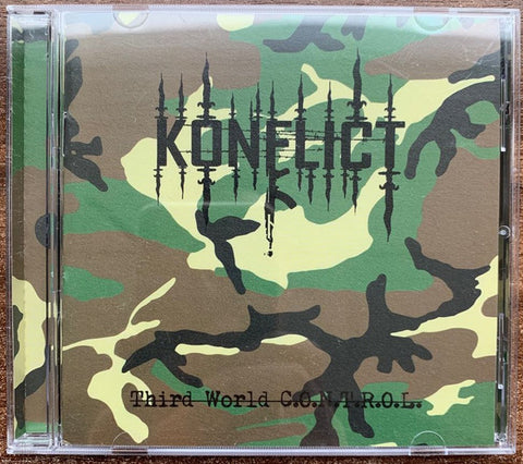 "Konflict ""Third World C.O.N.T.R.O.L"" CD (GoatowaRex)"