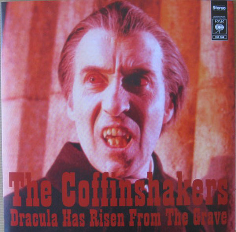 "The Coffinshakers ""Dracula Has Risen From The Grave"" 7''"