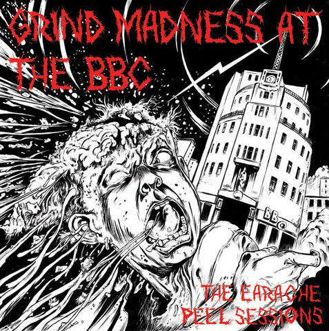 "V/A ""Grind Madness At The BBC"" Digipak 3 x CD"