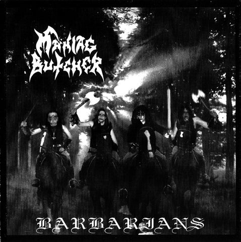 "Maniac Butcher ""Barbarians"" Digipak CD"