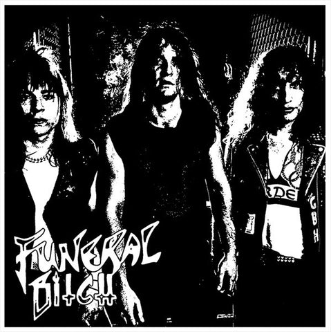 "Funeral Bitch ""1986/1987 Demos"" Red Vinyl 7"" (Master/Death Strike)"