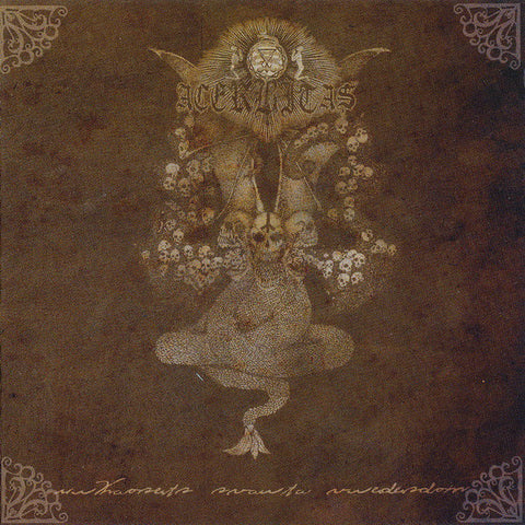 "Acerbitas ""Urkaosets Svarta Vredesdom"" CD (1st Press - Ancient Recs Related BM)"