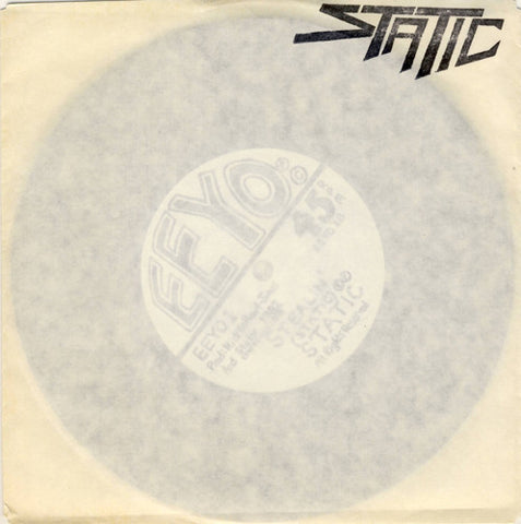 "Static ""Voice On The Line"" 7"" (Private Press Metal 1982)"