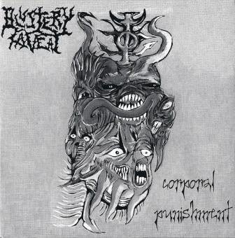 "Blustery Caveat ""Corporal Punishment"" 7"" (Self Released)"