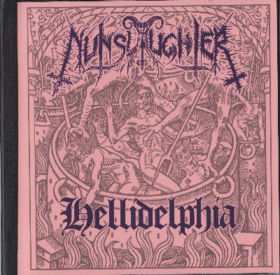 "NunSlaughter ""Hellidephia"" DVD (Limited to 66)"