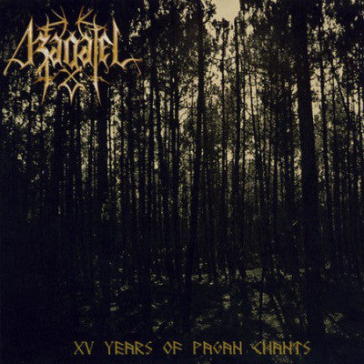 "Azagatel ""XV Years of Pagan Chants"" CD"