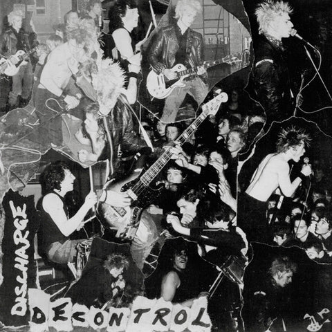 "Discharge ""Decontrol"" 7"""
