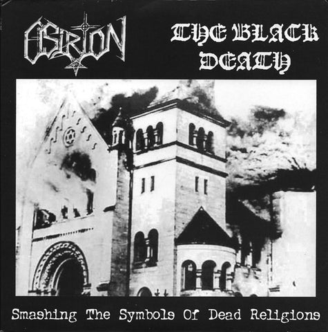 "Black Death / Osirion ""Smashing the Symbols of Dead Religions"" Split 7"""