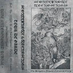 "Necrostrigis / Stormfront ""The Forgotten Demons Of Ancient Glory"" Split MC"