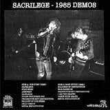 "Sacrilege ""Thoughts Are But Dreams Till Their Effects Are Tried - 1985 Demos"" LP"