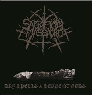 "Sacrificial Massacre ""Dry Spells & Serpent Gods"" CD"
