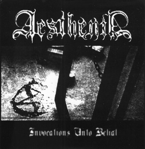 "Aesthenia / Somrak ""Invocations Unto Belial"" Split 7"""
