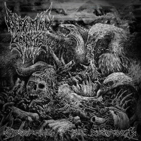 "Defeated Sanity / Mortal Decay ""Generosity Of The Deceased / Post-Anatomical Savagery"" Split 7"""
