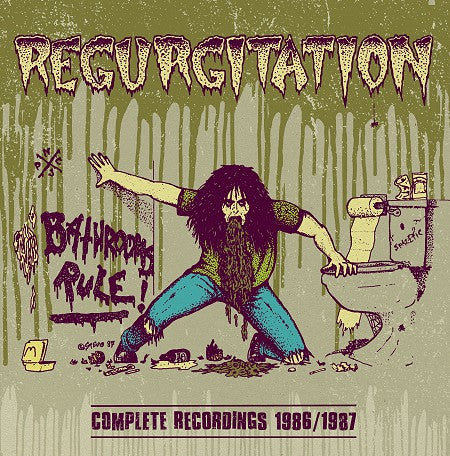 "Regurgitation ""Complete Recordings 1986/1987"" LP (James Plotkin)"