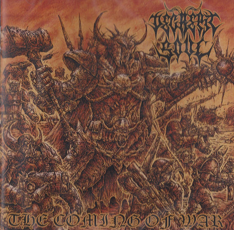 "Decrepit Soul ""The Coming of War"" LP (Bestial Warlust related)"