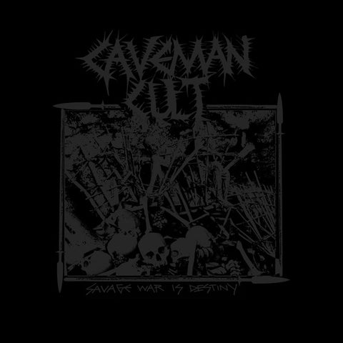 "Caveman Cult ""Savage War is Destiny"" CD"