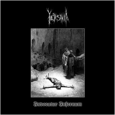 "Yersinia / Barastir ""Invocatur infernum / Devoured by Chaos in eternal torment"" Split 7"""