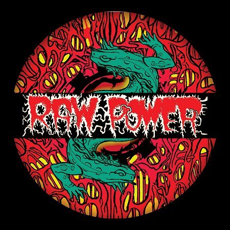 "RAW POWER ""Reptile house - XX Anniversary"" Picture LP+CD"