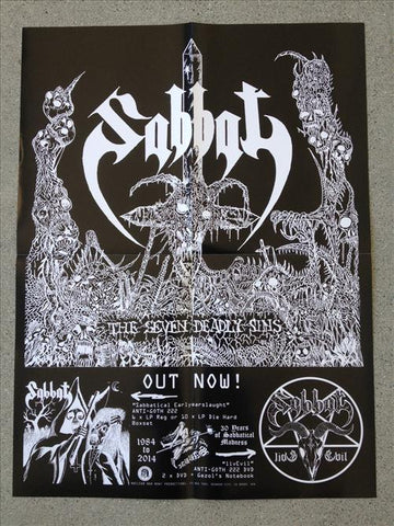 "Sabbat ""Promo"" 18""x24"" Poster  (PLEASE READ RULES)"
