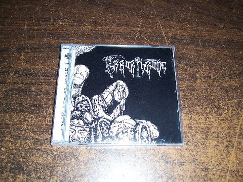 "Terror Throne ""World on Its Knees"" CD"