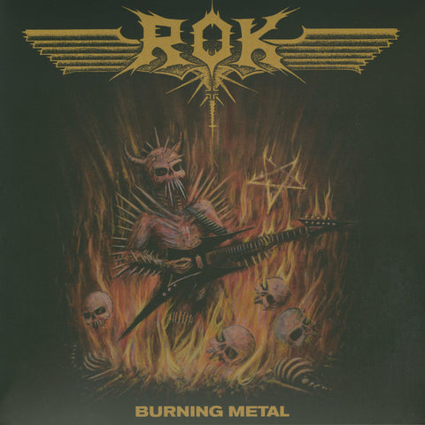 "Rok ""Burning Metal"" LP"