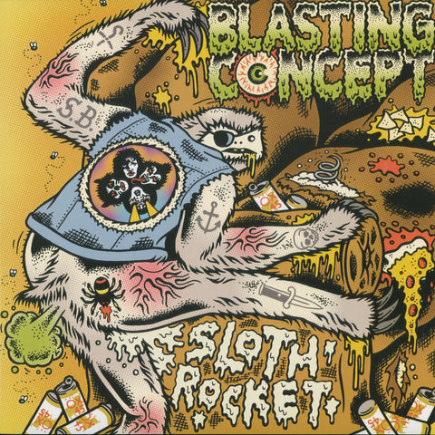 "Blasting Concept ""Sloth Rocket"" LP"