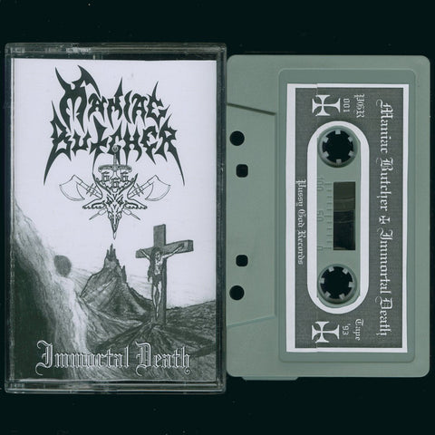 "Maniac Butcher ""Immortal Death"" Demo (1993 Death Metal Demo)"