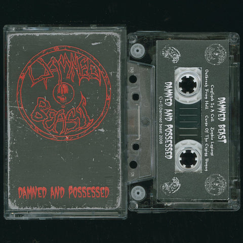 "Damned Beast ""Damned And Possessed (Demo 2008)"" Demo"