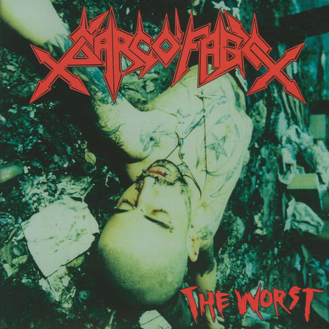 "Sarcófago ""The Worst"" LP"