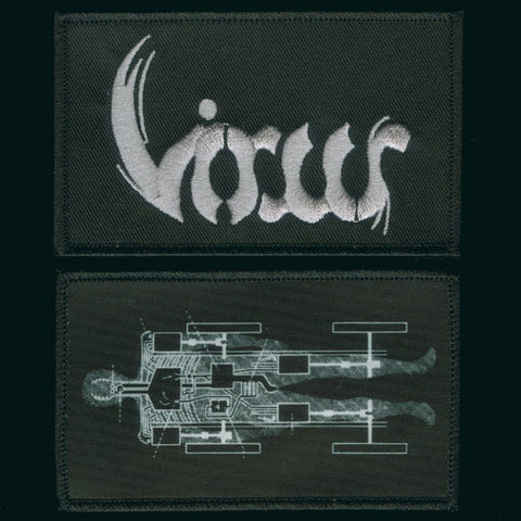 "Virus ""Logo and Carheart"" Patch Set"