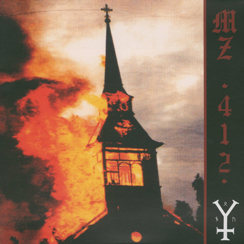 "Mz.412 ""Burning the Temple of God"" LP"
