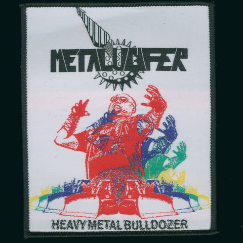 "Metalucifer ""Heavy Metal Bulldozer - Neal Tanaka"" Patch"